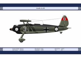 军队,Arado,Ar,68,军队,飞机,壁纸,(1)