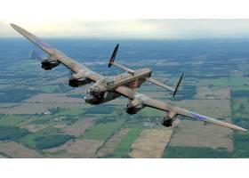 军队,Avro,兰开斯特,轰炸机,壁纸,(4)