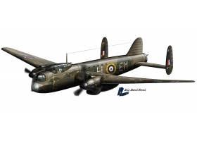 军队,Avro,曼彻斯特,轰炸机,壁纸,