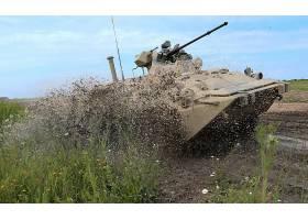 军队,BTR-80,装甲的,战斗的,车辆,装甲的,人事部门,带菌者,车辆,