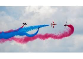 军队,天空,显示,军队,飞机,飞机,烟,飞机,壁纸,(1)