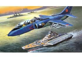 军队,雅科夫列夫,Yak-38,喷气式飞机,战士,壁纸,