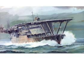 军队,日本的,海军,军舰,飞机,带菌者,日本的,飞机,带菌者,Akagi,