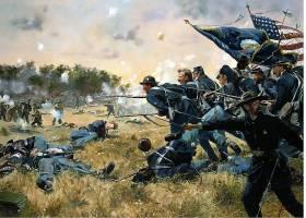 军队,战役,战争,战争,公民的,战争,死亡,艺术的,绘画,武器,枪,步
