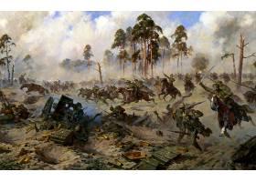 军队,战役,战争,绘画,艺术的,壁纸,