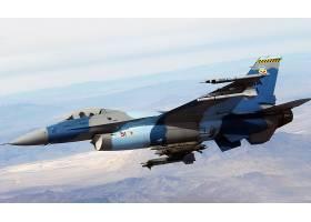 军队,一般,力学,F-16,战斗的,猎鹰,喷气式飞机,战士,壁纸,(63)