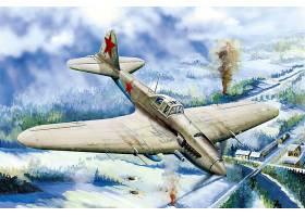 军队,伊柳辛,Il-2,军队,飞机,壁纸,(1)