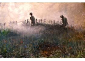 军队,艺术的,军人,绘画,壁纸,