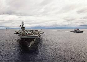 军队,美国军舰,男子名,罗斯福,(CVN-71),军舰,一致的,州,海军,美