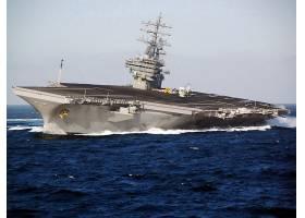 军队,美国军舰,罗纳德,里根,(CVN-76),军舰,一致的,州,海军,美国