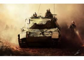 军队,坦克,坦克,壁纸,(520)