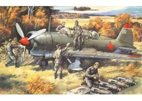 军队,苏霍伊,Su-2,轰炸机,壁纸,