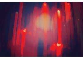 红色条纹光影光晕背景
