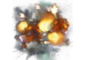 爆炸主题装饰背景