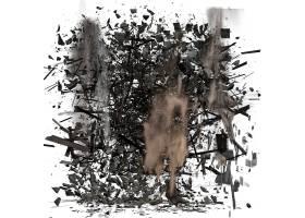 碎屑灰尘装饰背景