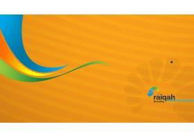 黄色互联网科技主题系统banner背景