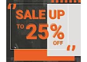 特价商品横幅广告PSD模板