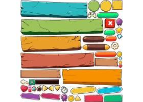 精致的手机游戏UI界面图标道具插画设计