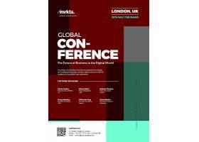 全球会议主题海报设计