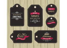 圣诞节促销标签