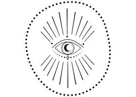 眼睛主题装饰图案设计
