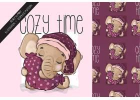 卡通大象宝宝设计