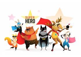 创意卡通动物集合