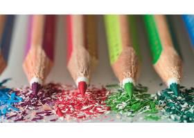 铅笔,巨,彩色,壁纸,(7)