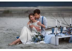 爱,夫妇,女孩,男人,白色,穿衣,深度,关于,领域,酒香,壁纸,