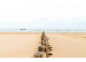 海洋,海滩,沙,地平线,小船,壁纸,