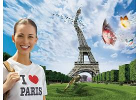 操纵,法国,巴黎,埃菲尔铁塔,塔,壁纸,