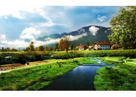 地方,自然,风景,风景,绿色的,壁纸,