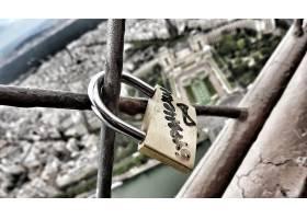 爱,锁,巴黎,埃菲尔铁塔,塔,壁纸,