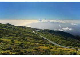 风景,云,地平线,路,壁纸,