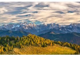 风景,山,阿尔卑斯山脉,渴望,树,森林,树,云,自然,山峰,壁纸,