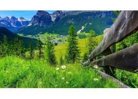 山,弹簧,自然,风景,壁纸,