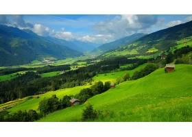 山,绿色的,自然,风景,壁纸,