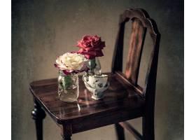 仍然,生活,花,玫瑰,过时的,壁纸,