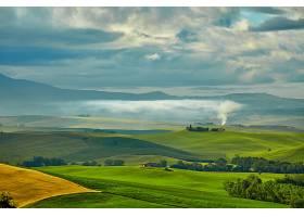 托斯卡纳区,自然,风景,意大利,领域,小山,壁纸,