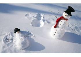 雪人,壁纸,(8)