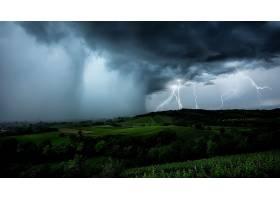 闪电,自然,风景,云,暴风雨,壁纸,