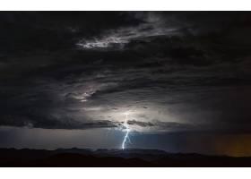 闪电,云,暴风雨,风景,壁纸,