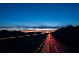 延时,延时,夜晚,公路,路,灯光,风景,壁纸,