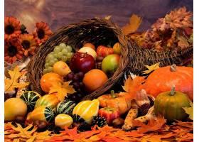 仍然,生活,秋天,叶子,葫芦,篮子,水果,南瓜,花,蔬菜,壁纸,
