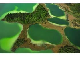 天线,地球,岛,湖,巴伐利亚,德国,绿色的,壁纸,