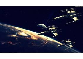 宇宙飞船,行星,月球,壁纸,(38)
