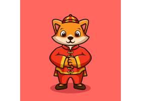 卡通喜庆牛插画素材