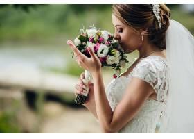 女人,新娘,妇女,模特女孩,婚礼,穿衣,酒香,情绪,黑发女人,壁纸,