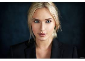 女人,伊娃,Mikulski,模特,女孩,脸,白皙的,蓝色,眼睛,壁纸,