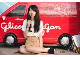 女人,亚洲的,女孩,模特妇女,黑色,头发,壁纸,(6)